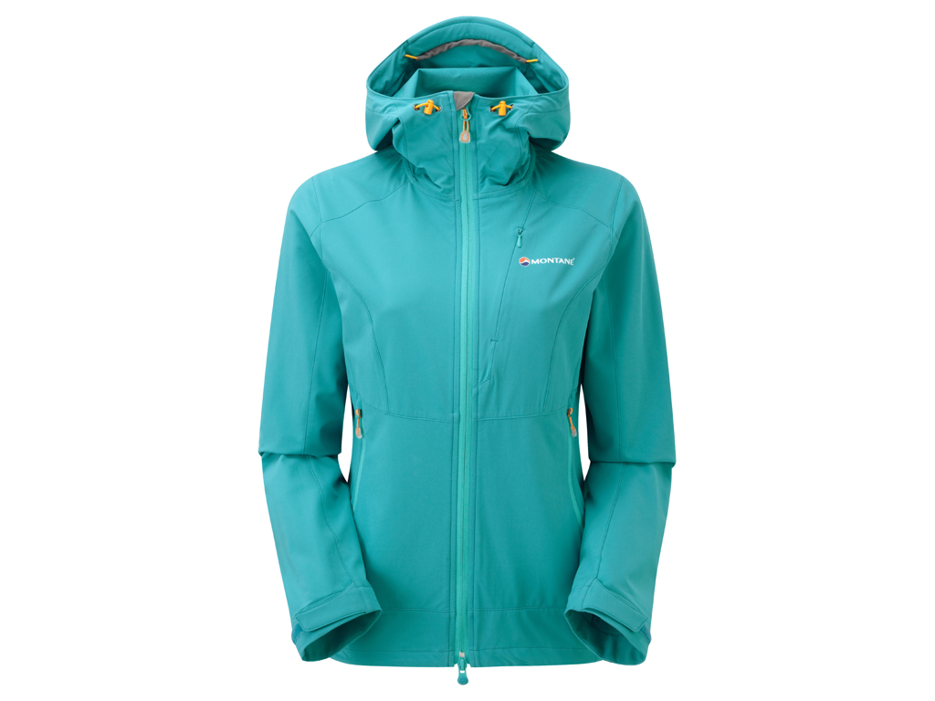 Montane Womens Dyno Stretch Jacket - Softshell Dame - Blå - 36