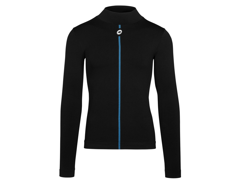 Assos Winter LS Skin Layer - Cykeltrøje L/Æ - Sort - Str. 0